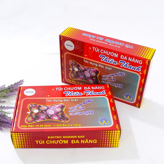 Combo 2 túi chườm đa năng Thiên Thanh loại trung