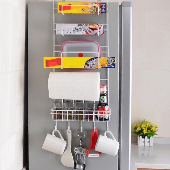 Kệ treo tủ lạnh đa năng, tiết kiệm diện tích