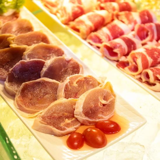 HongKong New BBQ&Hot Pot Buffet Lẩu không giới hạn