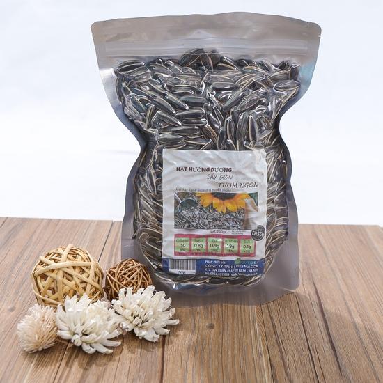 2 gói hạt hướng dương sấy giòn thơm ngon túi 350g
