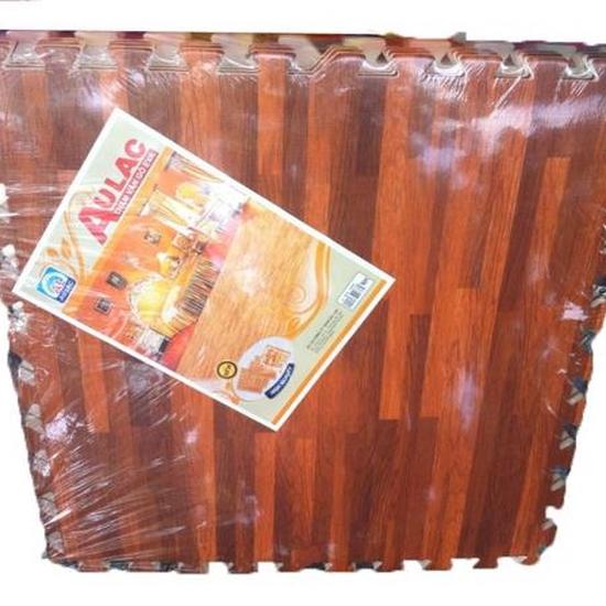 4 miếng thảm xốp vân gỗ Âu Lạc 60 x 60cm (1.44 m2)