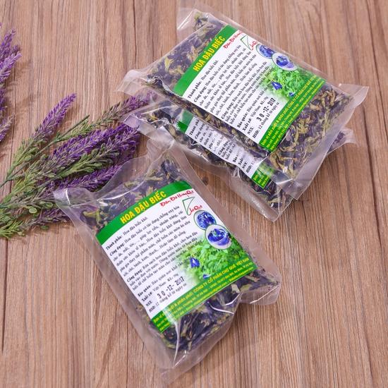 03 gói hoa đậu biếc khô nhiều công dụng gói 50g