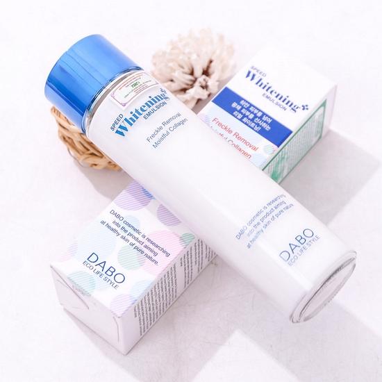 Nhũ sữa dưỡng thể tinh chất Collagen Dabo Hàn Quốc