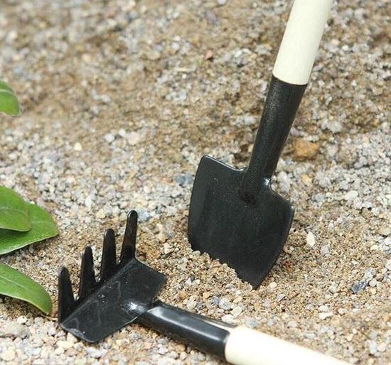 Combo 02 Bộ dụng cụ làm vườn mini 3 món