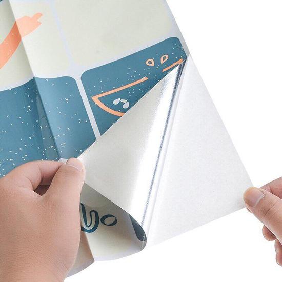 04 Tờ giấy dán bếp cách nhiệt mẫu mới (75cmx45cm)