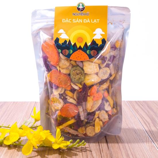1kg hoa quả sấy thập cẩm Nguyên Vũ hương vị Đà Lạt