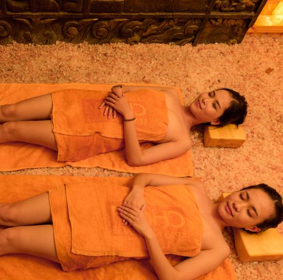 Giải độc cơ thể tại Cham spa & massage