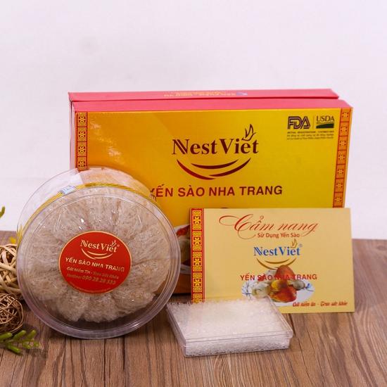 100gr Yến Sào Nha Trang 100% tự nhiên + Đường phèn