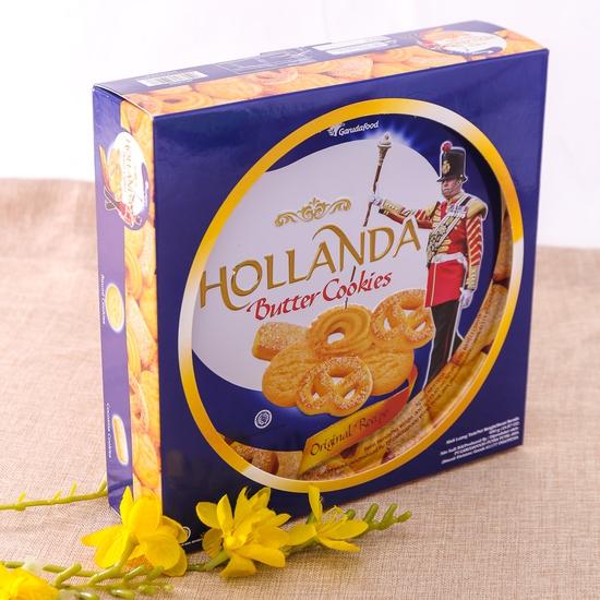 Bánh quy bơ Hollanda hộp thiếc 450g