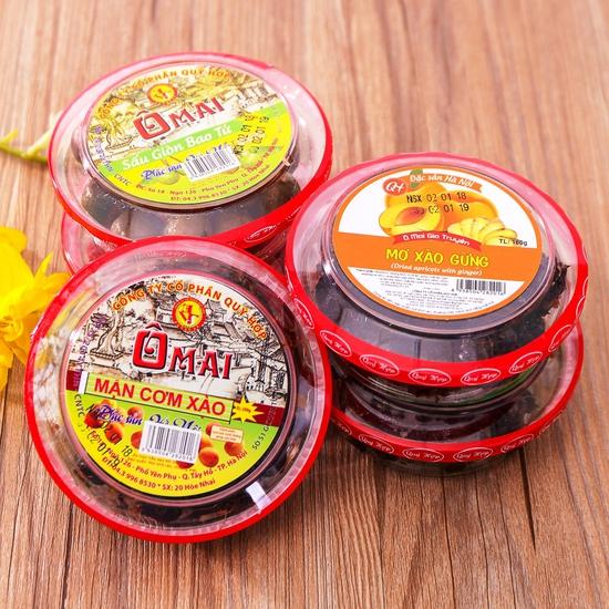 5 hộp ô mai hương vị cổ truyền Hà Nội