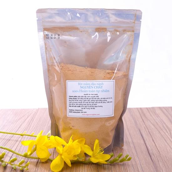 500g bột mầm đậu nành nguyên chất 100% tự nhiên