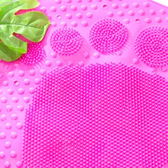 Thảm nhựa dẻo chống trượt trong nhà tắm