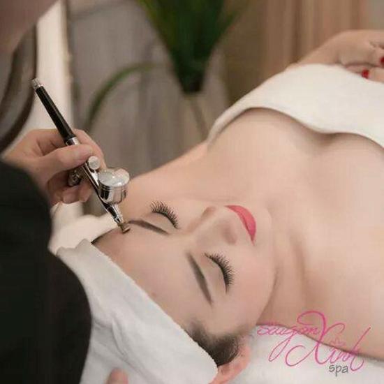 Chăm sóc da mặt chuyên sâu trắng hồng, mềm mịn Sài Gòn Xinh Spa