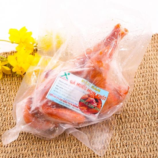 1 con gà muối hun khói đặc sản loại 1kg