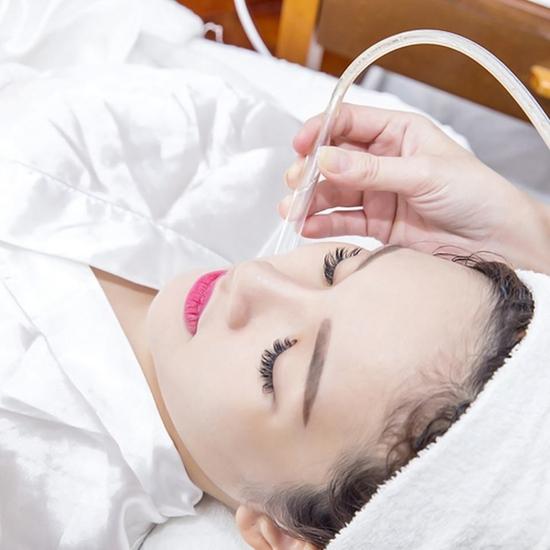 Chăm sóc da mặt đẩy oxy tươi+ vitamin làm sạch sâu