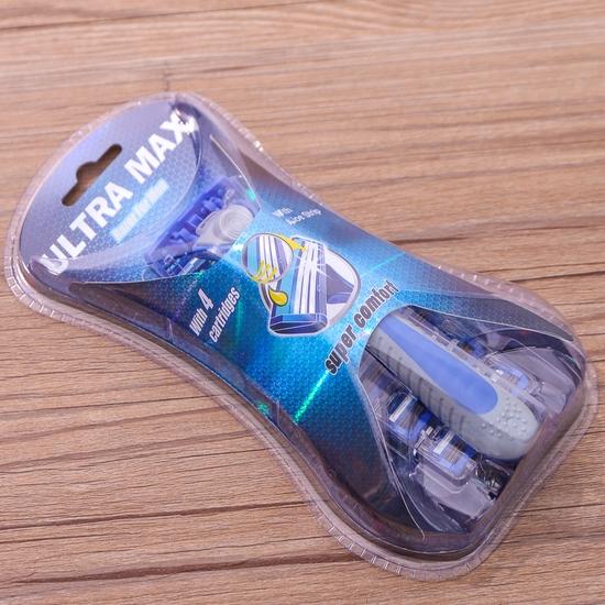 Combo 2 dao cạo râu 3 lưỡi Ultra Max tiện dụng