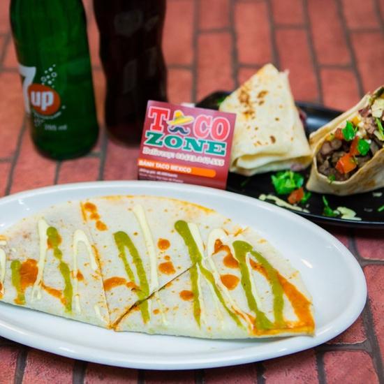Pizza Mexico, bánh Burrito và 2 đồ uống-Pizza Home