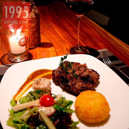 Combo steak Bò Úc Ribeye ngon chuẩn vị Âu - Mỹ 1995 Buctuong Story