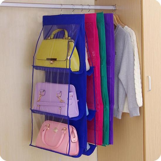 Túi treo bảo vệ túi xách 6 ngăn tiện dụng