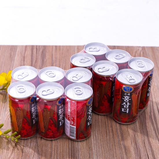 12 lon nước hồng sâm Hàn Quốc thanh nhiệt, mát gan