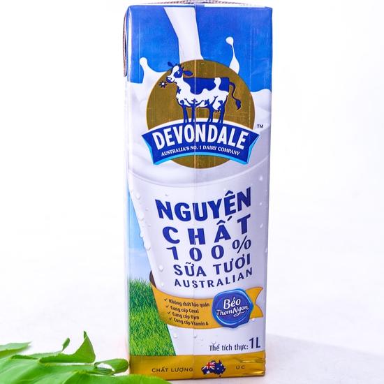 1 thùng/10 hộp sữa tươi Devondale nguyên kem NK Úc