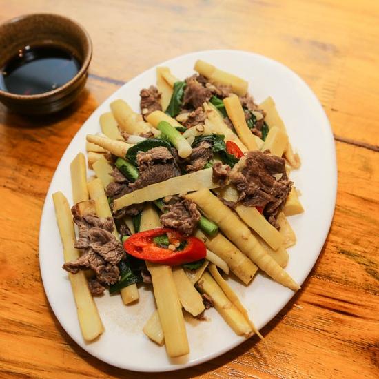 Set lẩu riêu cua bắp bò sườn sụn+món ăn kèm cho 3N