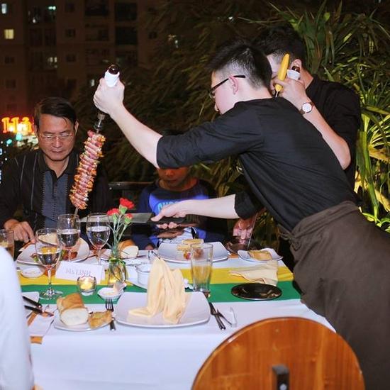 HOT - Buffet Nướng tại bàn đẳng cấp Brazil