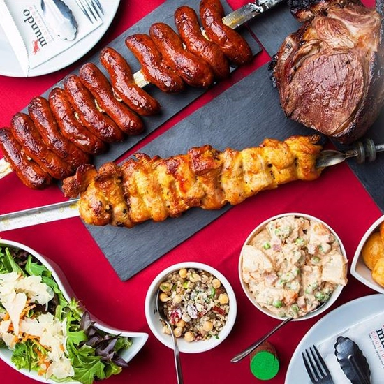 Buffet nướng tại bàn NH Carnaval menu 299K