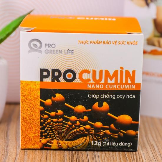 Tinh bột nghệ Procumin giúp chống oxy hóa