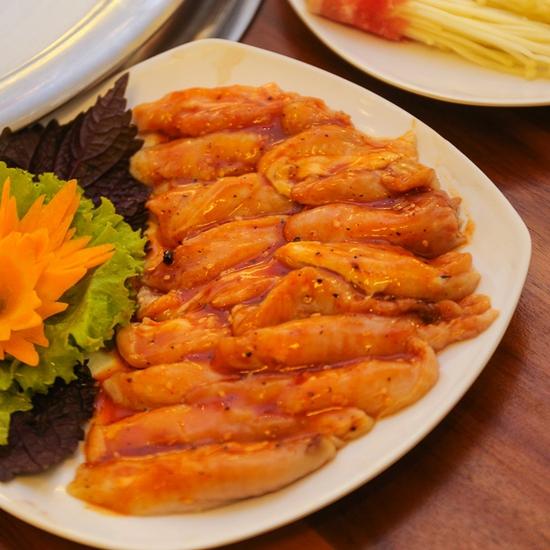 Buffet Nướng thỏa thích tại Korean BBQ menu 299K