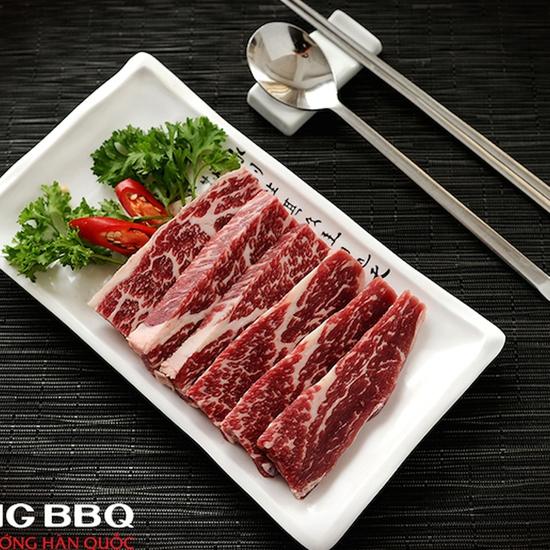 King BBQ: Buffet Nướng Lẩu Thả Ga Menu VIP 279K