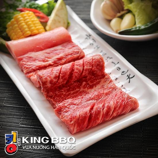 King BBQ 329K, Buffet Nướng Lẩu Đẳng Cấp, Không Phụ Thu Cuối Tuần, CS Đào Tấn