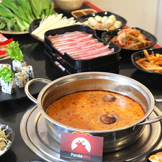 Buffet Nướng Lẩu Panda BBQ-Không phụ thu cuối tuần