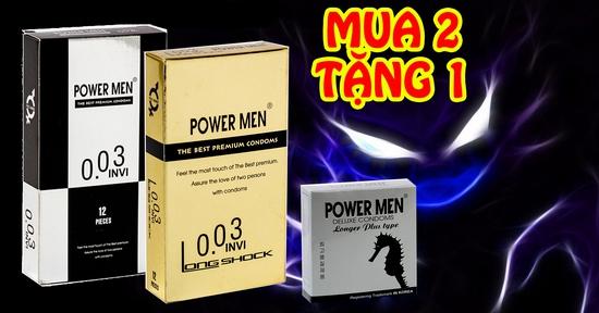 CB 2 BCS POWERMEN ĐIỆP VIÊN TÀNG HÌNH 0,03 LONG