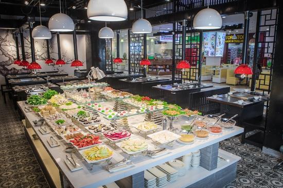 Buffet lẩu hơn 40 món nhúng tặng kem Fanny + Pepsi Buffet Nik Nak Times City