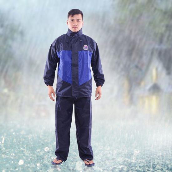 Bộ quần áo mưa 2 chức năng dày dặn Hưng Việt