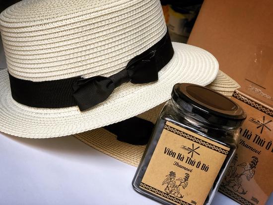 Viên uống Hà Thủ Ô Đỏ tặng kèm mũ đi biển tiện lợi