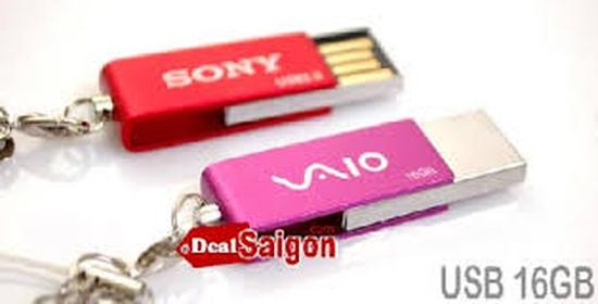USB Sony 16G, cam kết dung lượng đủ, BH đổi mới 12 tháng