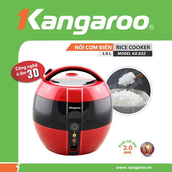 Nồi cơm điện Kangaroo KG832