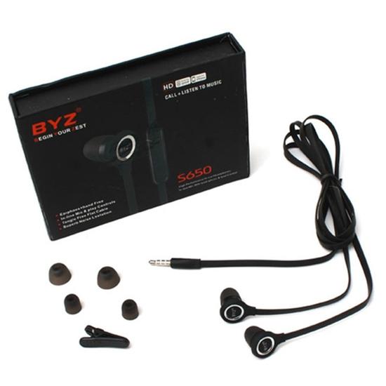 Tai nghe BYZ S650 cực tốt, âm thanh trung thực, bảo hành đổi mới 1 năm