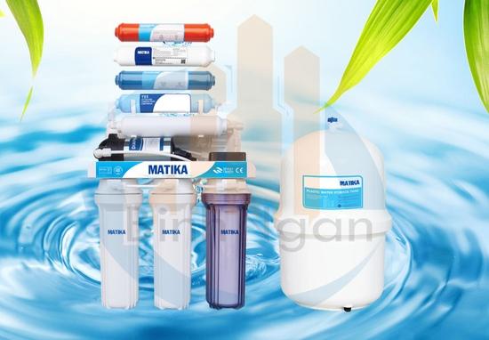 Máy lọc nước Matika RO 9 cấp lọc