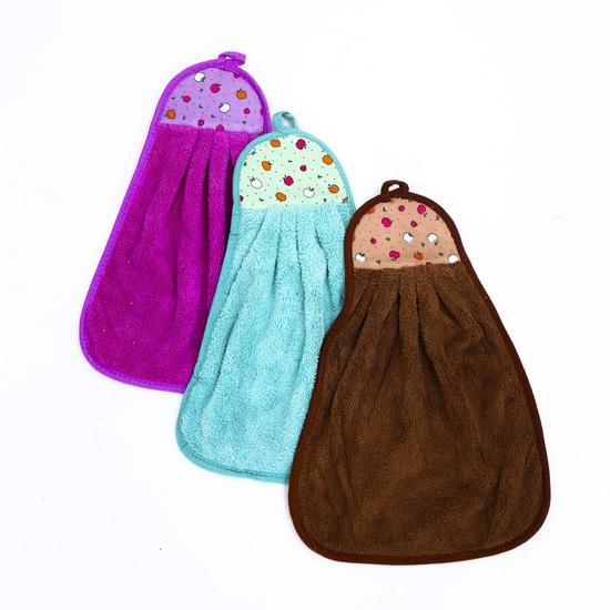 Combo 5 khăn lau tay, dạng treo nhà bếp- hàng VN