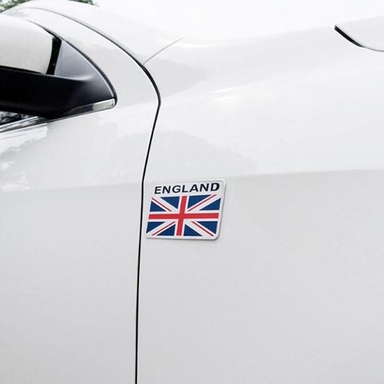 Tem trang trí Cờ Anh dán trang trí Ô tô, Xe máy.