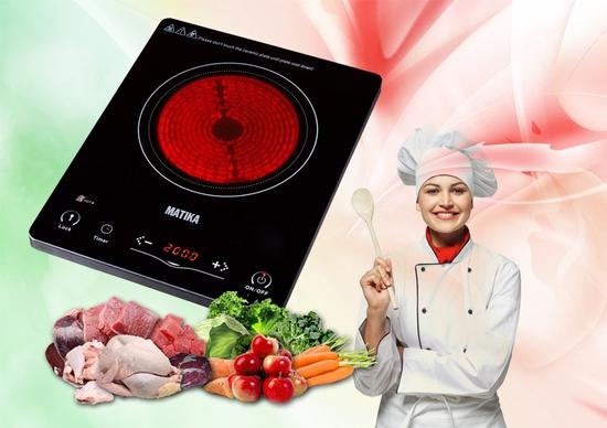 Bếp hồng ngoại Matika MTK-H2