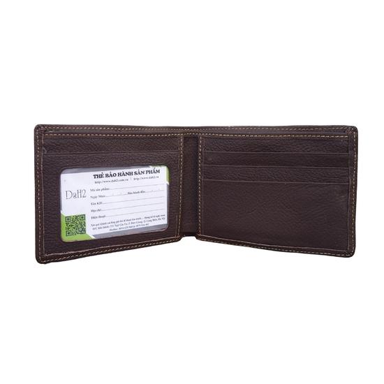 Combo Dây lưng ví nam DaH2 D0019 khóa lăn ngẫu nhiên + ví nâu