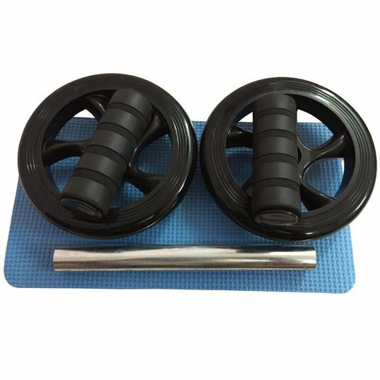 Bánh xe con lăn tập cơ bụng AB Wheel (Đen)
