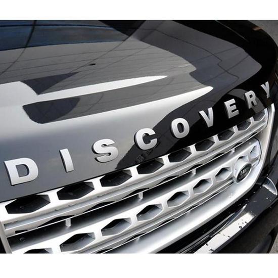 Chữ DISCOVERY 3D nổi trang trí ô tô