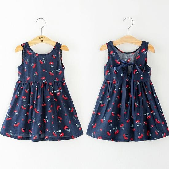 Váy hoa nhí QATE81 cho bé gái SZ 1 (TTR.NON.0081.01.TT)