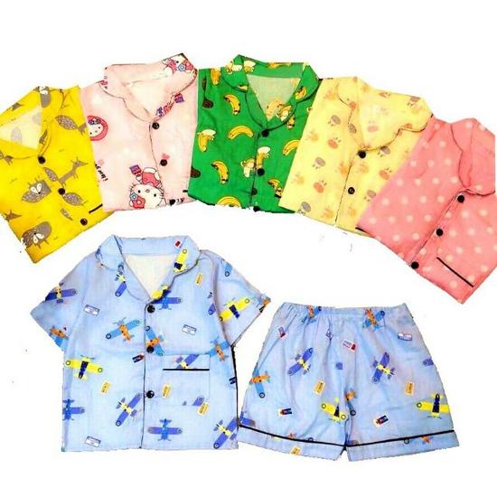 Combo ba bộ pijama cộc tay C3QATE68 cho bé trai size 2 (TTR.C03.0068.02.BT)