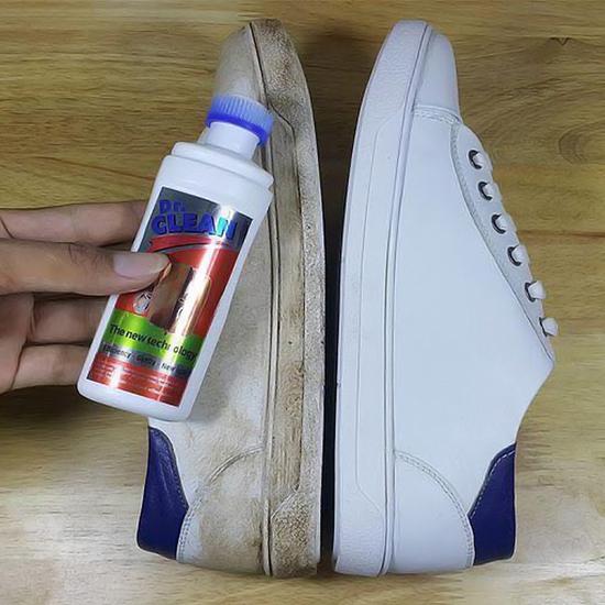 Đánh bóng Dr.Clean-Chuyên gia làm sạch giày, đồ da